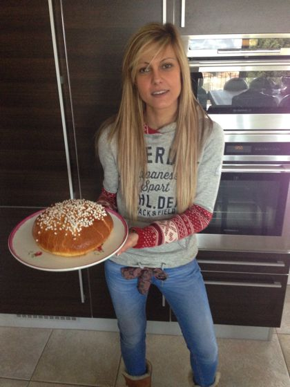 Le gâteau  des rois provençale au fruit confit