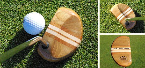 Les putters en bois, objets de décoration ou véritables clubs?