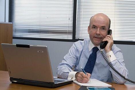 Christian Arber, président de la société Missler Software, à Evry (Essonne).