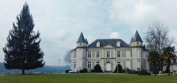 Le château de Franqueville à Bizanos.