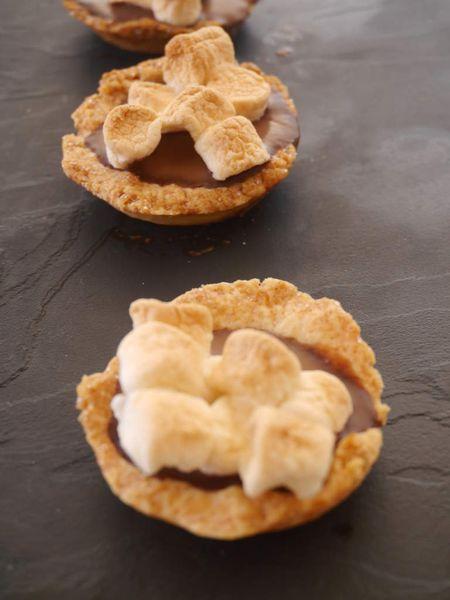 Tartelettes chocolat et Marshmallows
