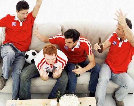 5 Comidas para ver el futbol con tus amigos.