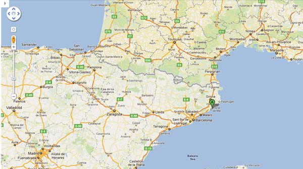 Stage en Espagne...Lloret de Mare...du 11 au 15 avril