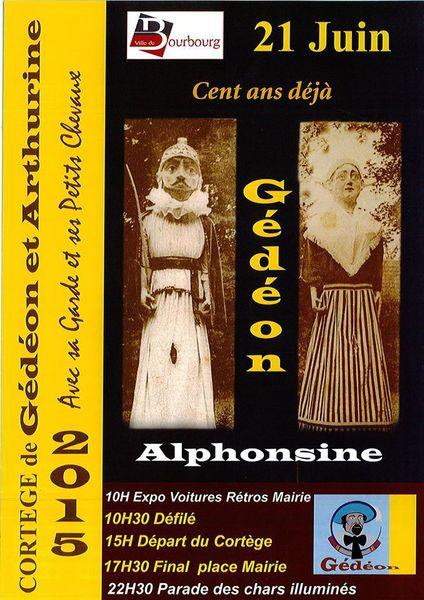 88e Cortège de Gédéon &amp&#x3B; Arthurine