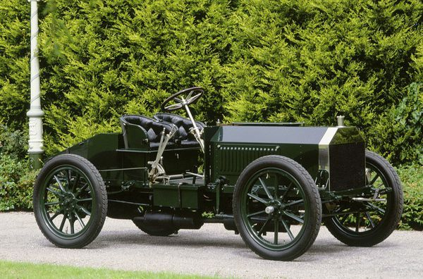 Napier 1903 Coupe Gordon Benet