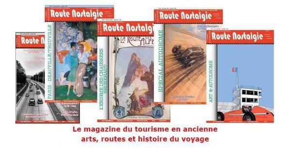Promotion sur les anciens magazines ROUTE NOSTALGIE