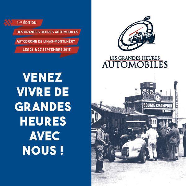 La plaquette des Grandes Heures Automobiles