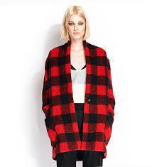 L'indispensable manteau Tartan