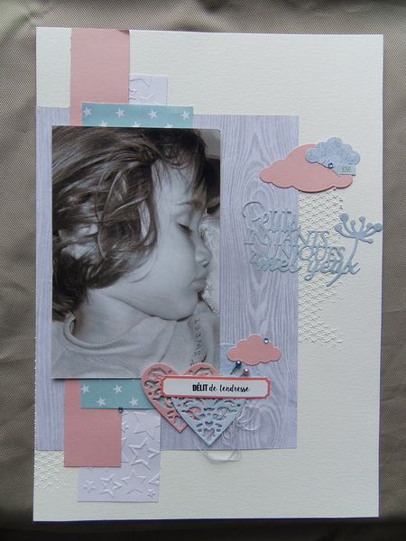 Challenge #174 - Inspiration Scrapbooking A4