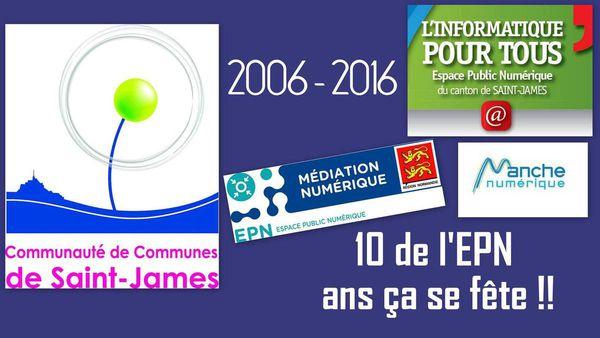 2006-2016 l'EPN à 10 ans !!! Une petite soirée en perspective