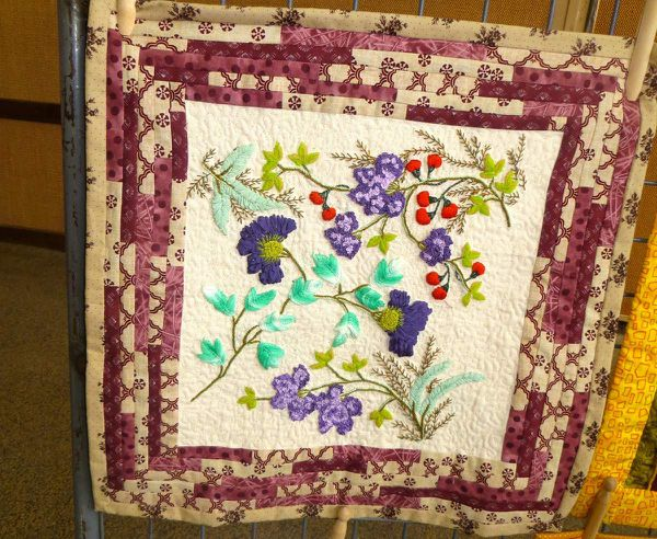 Patch et broderie