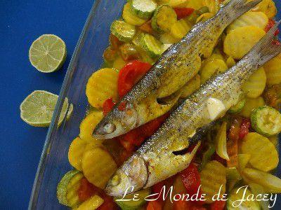 Mosli hout - Fisch aus dem Backofen