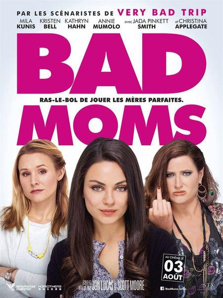J'ai été voir Bad Moms !