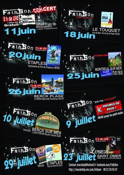 LE GROUPE FATHSON...au SQUARE DUFFIT...CE DIMANCHE 10 JUILLET ...pour LES MUSICALES DU SQUARE...