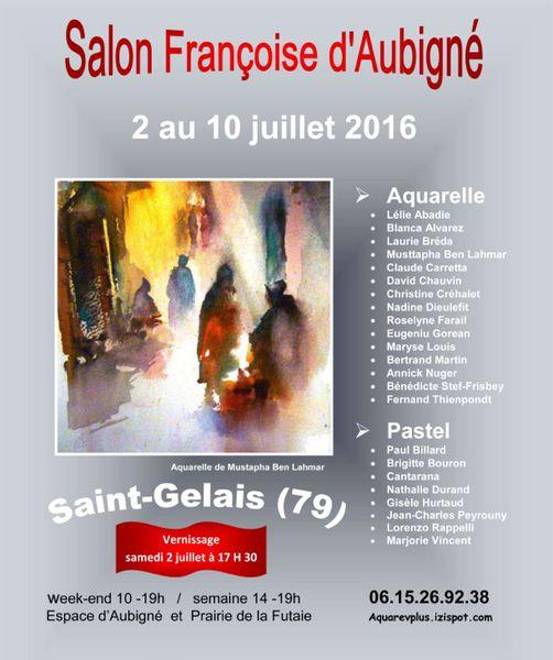 IVe Salon Françoise d'Aubigné à Saint-Gelais (79)