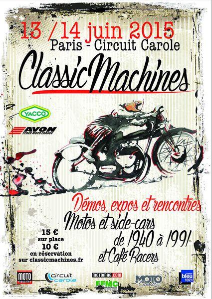 Classic Machines Carole 2015