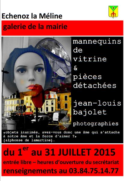 Galerie de la Mairie : Exposition du 1er au 31 juillet 2015