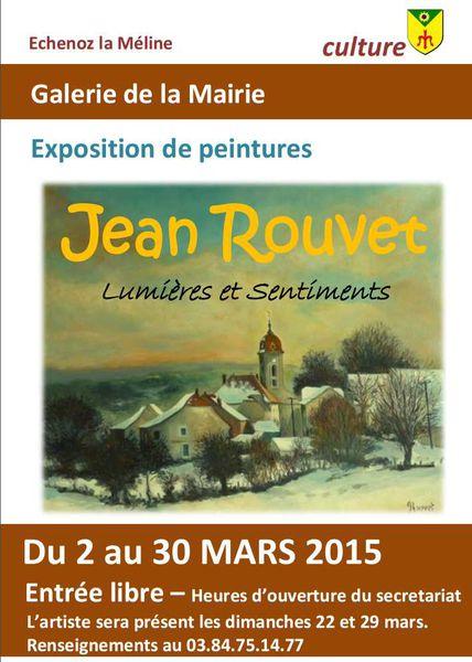 Galerie de la Mairie : Exposition du 2 au 30 mars 2015