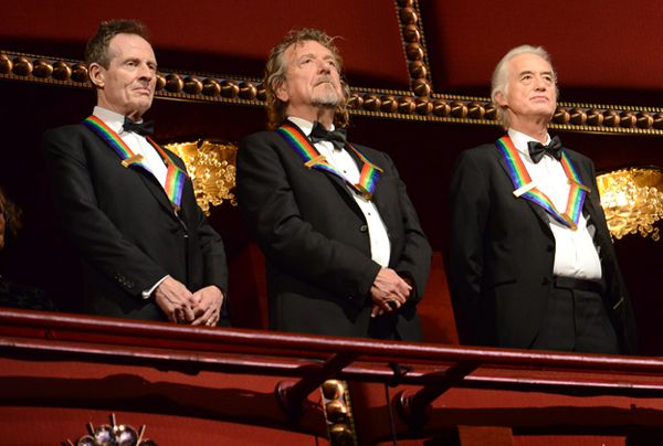 The kennedy center honors Led Zeppelin 2012