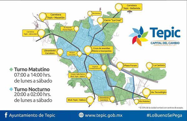 A un año de la elección, Polo sigue cumpliendo: No más basura en Tepic