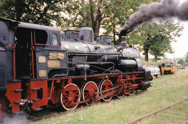 Train réel en Roumanie