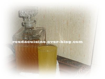 Sirop orange-citron