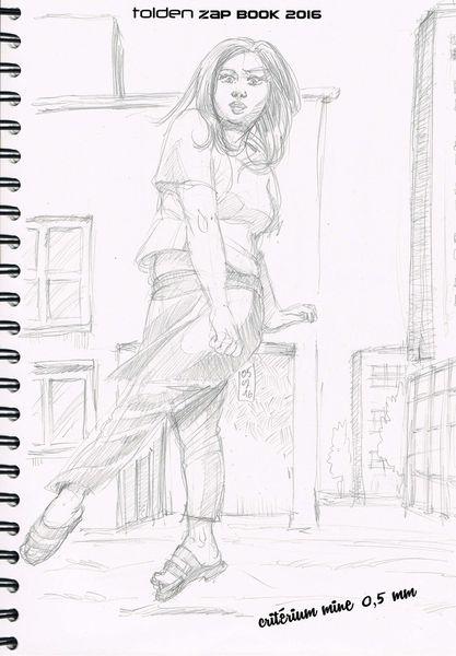 Zapbook page 27, sauter de joie
