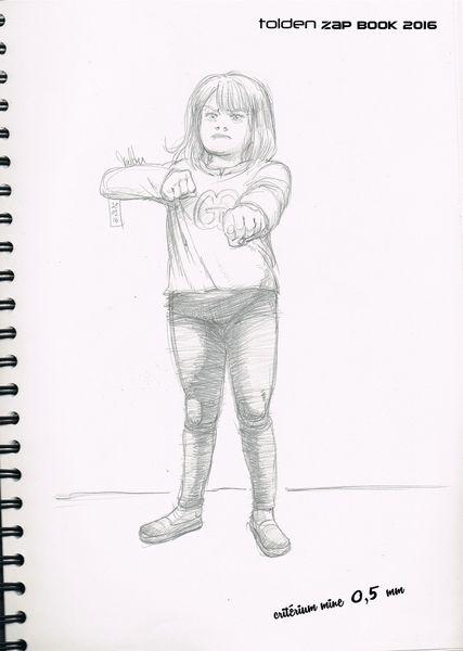 KungFu Lily par Tolden