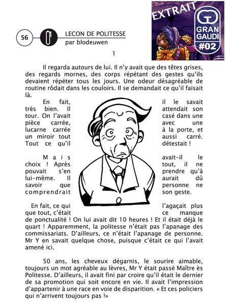 Extrait du fanzine Gran Gaudi n°02