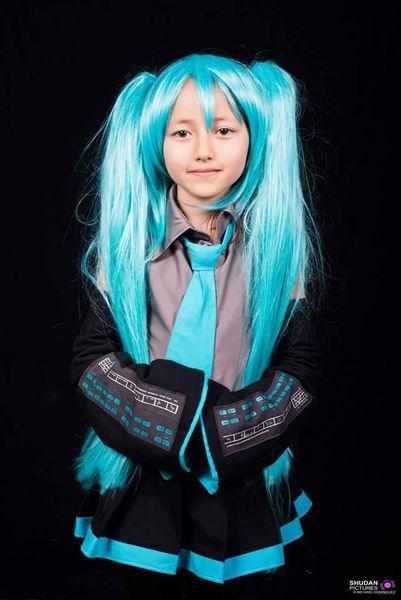 Hatsune Miku à la Japan expo.