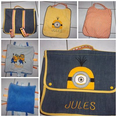 cartable minion