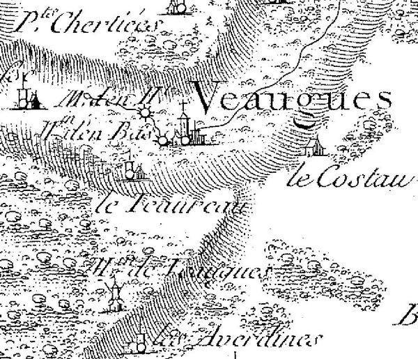 Veaugues: le Moulin Vatan