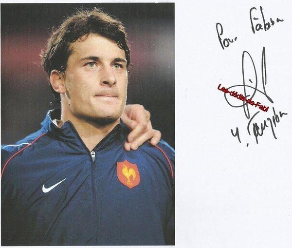 Spécial Equipe de France de rugby : Yannick JAUZION