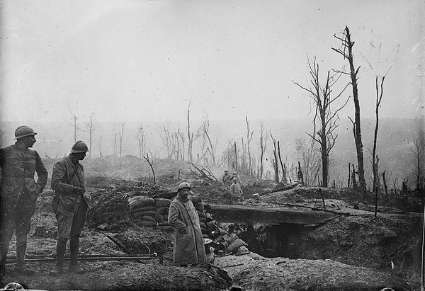 Un tranchée à Verdun - Copyright: Wikimedia.
