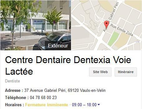 Centre dentaire DENTEXIA Vaulx en Velin