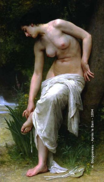 William Bouguereau - Après le bain