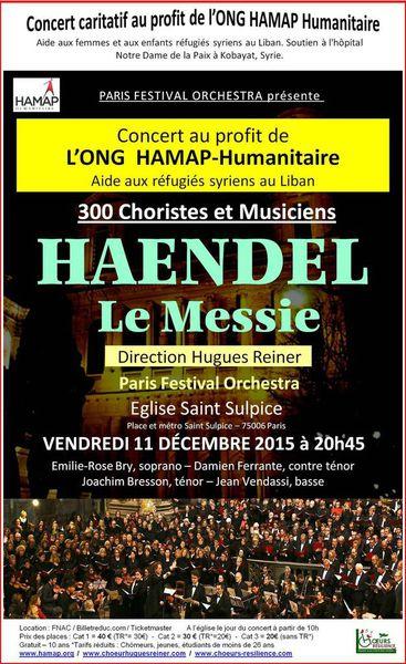 Concert de Noël de l'ONG HAMAP.