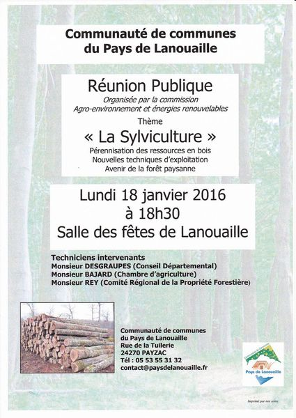 Parlons sylviculture
