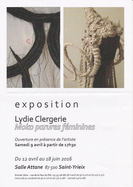 Lydie Clergerie expose