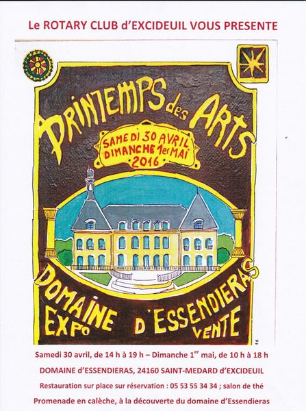Printemps des Arts à Essendiéras