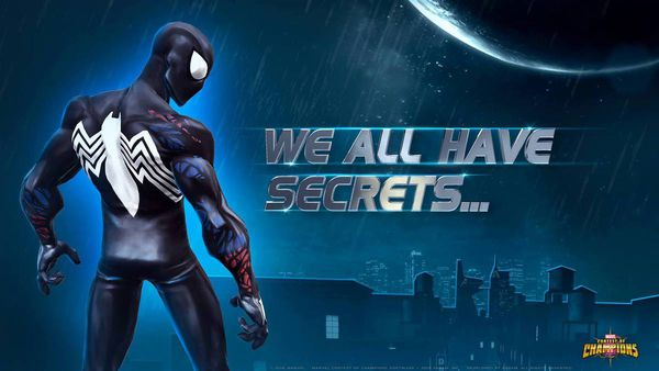 Spiderman black area marvel contest of champions