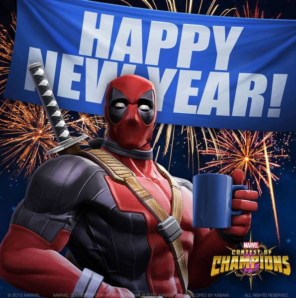 marvel contest of champions happy new year