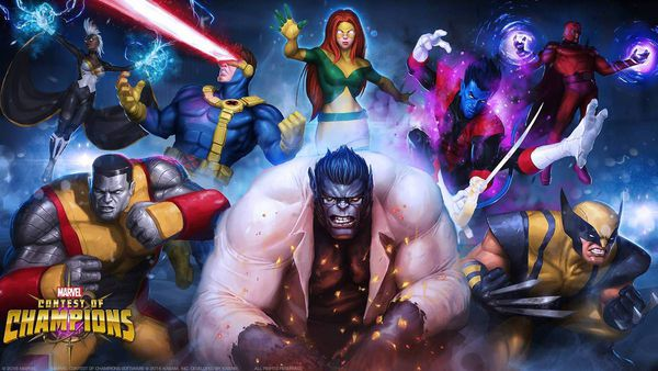 Marvel contest of champions X-men Phoenix area arène vs