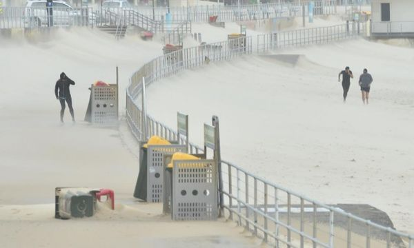 Bondi beach ce jour...