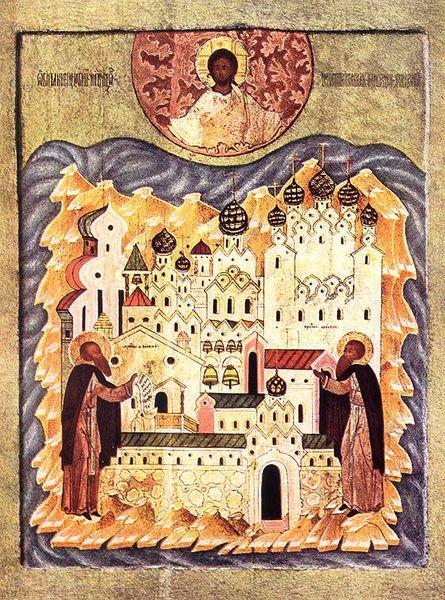 Translation des reliques du Vénérable Saint Zosime de Solovki