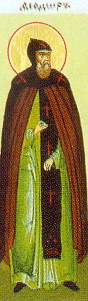 Fêté le 11 août : Saint Martyr Theodore des grottes proches de Kiev