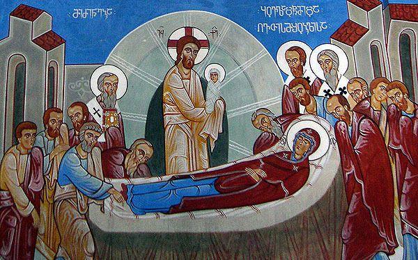 Fêté le 19 août (1er septembre) : Après Fête de la Dormition de la Mère de Dieu