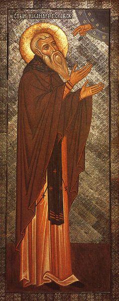Fêté le 24 septembre (7 octobre) : Vénérable Saint Nicandre l'Ermite de Ps'kov