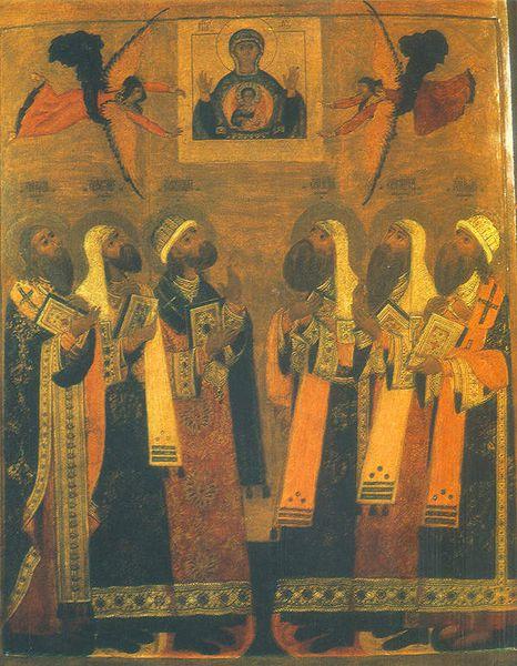 Fêté le 5 octobre (18) : Saint Philippe le Métropolitain de Moscou et de toute la Rossiya