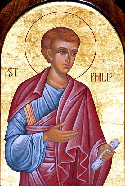 Saint Apôtre Philippe des 70, un des sept diacres